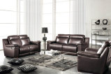 Home Furniture Genuine Leather Sofa Set (907)