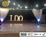 El más popular LED Starlit piso LED Twinkling piso LED para la boda / Stage Decoration / Party 12FT * 12FT