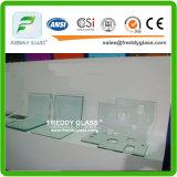2-19mm recozeu o vidro do vidro/têmpera/vidro de flutuador Tempered ultra desobstruído/vidro liso endurecido
