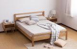 Camas matrimoniales modernas de la cama de madera sólida (M-X2242)
