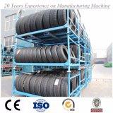 Cremagliera accatastabile d'acciaio di alta qualità per i pneumatici dell'automobile