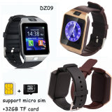 Bluetooth 3.0 Smart Watch Phone com slot para cartão SIM (DZ09)