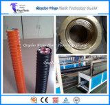 Das Kabeljau-Kabel-Schutz-Rohr, das Maschine/herstellt, runzelte Optikleitung-Strangpresßling-Zeile