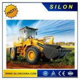 Goedkope Prijs Lader fL955f-Ii van het Wiel van Foton Lovol van 5 Ton voor Verkoop