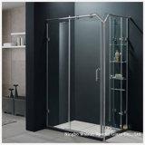 Espace libre/douche de Frameless/porte de Bath/salle de bains gâchée/verre trempé