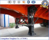 Chino fabricado 70tons estaca / valla semi remolque de camiones
