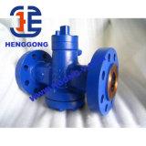 Valvola a rubinetto dell'acciaio di getto della flangia di API/DIN/JIS/acciaio inossidabile