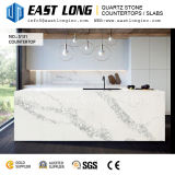 Lajes de primeira qualidade diretas da pedra de quartzo de Calacatta da fábrica para bancadas do console