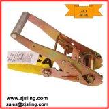 """ cinta lisa 2 "" amarelo da catraca do gancho 2 de X 30 ' (personalizado)"