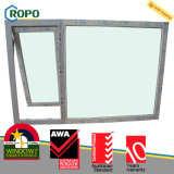 Ultimi nuovi disegni della finestra della tenda di vetratura doppia di UPVC/Pvcu