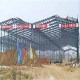 Modular de estructura de acero de construcción de plantas con Muti-Span