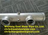 溶接された付属品が付いているUL FMの炭素鋼の管