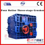 Triturador do estágio do rolo três do triturador de pedra quatro com eficiência elevada