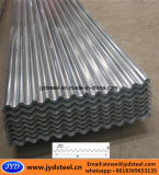 22枚のゲージによって波形を付けられる電流を通された亜鉛屋根シート