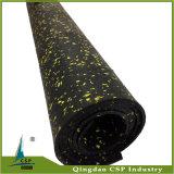 Gymnastik-Gummibodenbelag-Rolle der China-Lärmverminderung-6mm