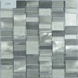Mosaico della miscela di vetro e del metallo della trippa per la cucina