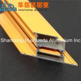 Puder-überzogenes Aluminiumprofil-Aluminiumstrangpresßling für das Schieben der Garderoben-Tür