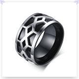 Anillo de dedo de la manera de los hombres de la joyería del acero inoxidable (SR784)