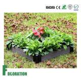 Base de flor cómoda de la terraza de la flor de Eco/rectángulo compuesto plástico de madera de la flor