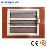 Indicador de alumínio de vidro de venda quente do obturador do indicador da grelha de Roomeye Matt