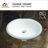 "17X14 "" Upc를 가진 Undermount Sink, Bathroom Sink (1601년)"