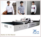 Tmcc High Speed Computerized Cloth/Fabric Cutting Machine Automatic Cutting Facility for Carmat Car/Vibrating Knife Cutter