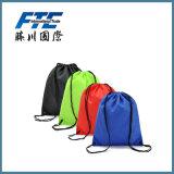 Оптовый дешевый мешок Tote Backpack Drawstring сетки нейлона или полиэфира