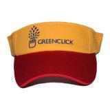 Cappello ricamato registrabile della visiera di Sun di sport su ordinazione