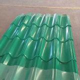 Tuile de feuille de toiture galvanisée par PPGI de tôle d'acier dans Dx51d 0.14-0.8mm