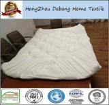 La protezione del materasso, il bambù della Vera dell'aloe, il rilievo di materasso Hypoallergenic e di raffreddamento, vinile copre liberamente, regina