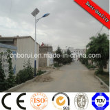 5 anni di garanzia si sono applicati all'indicatore luminoso di via solare di PV LED di vendita del Ce di IEC di iso dei 80 paesi con buona integrità
