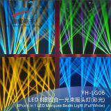 1개의 큰천막 선형 로커 LED 광속 빛에 대하여 디스코 가벼운 8*8W RGBW 4