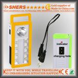 Luz Emergency solar portátil do diodo emissor de luz com 1W a lanterna elétrica, USB (SH-1904A)