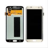 цифрователь касания экрана LCD сотового телефона 10PCS для края галактики S7 Samsung (XSLS-029)