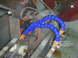 Máquina reforçada espiral flexível da extrusora da mangueira do fio de aço do PVC