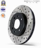 Disque de frein de rotors de frein de vente en gros d'usine de qualité pour le véhicule Nissan 4020661A00/4020661A01/4020661A10/4020661A11