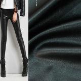 Elastisches Gewebe weiches PU-Lederimitat für Kleid-Hosen-Umhüllungen