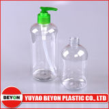 bouteille en plastique de 500ml Boston pour l'empaquetage de shampooing et de douche (ZY01-B098)