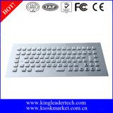 Schroffe Panel-Montierungs-industrielle Edelstahl-Tastatur