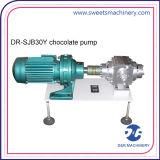Wasser-Verteilende Schokolade, die Pumpen-Schokoladen-Zubringerpumpe mit großer Geschwindigkeit dosiert