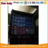Tecidos econômicos descartáveis do bebê da fábrica de Fujian China