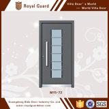 Puerta exterior del chalet/puerta de cristal del oscilación del doble/diseño de cristal de aluminio de la puerta