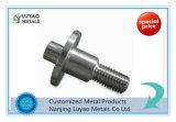 CNC da precisão que faz à máquina para o suporte de alumínio