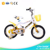 Gosses formant la bicyclette d'enfants de bicyclette