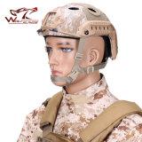 軍隊はヘルメットバイザーが付いている戦術的な海軍PJヘルメットをごまかす