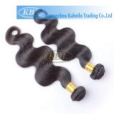 Cheveu de Péruviens de cheveu d'Aaaaaa 100%Human de pente