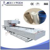 Máquina de la protuberancia del tubo del PVC con el estirador de tornillo gemelo