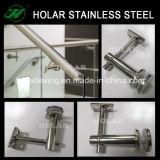 Suporte de vidro da fixação do aço inoxidável de Holar, suporte de vidro para trilhos