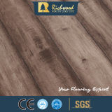 настил ламината дуба текстуры Woodgrain 12.3mm деревянный деревянный прокатанный