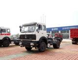 Cabeza del Norte Benz 6X4 tractores 420HP